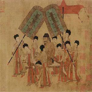唐 阎立本《步辇图》 现藏故宫博物院