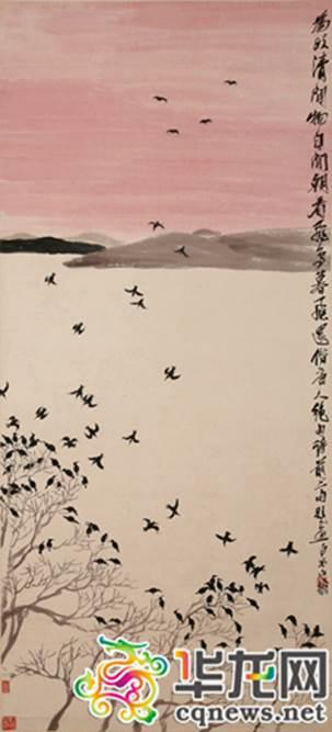 《飞鸟暮归》。本网资料图