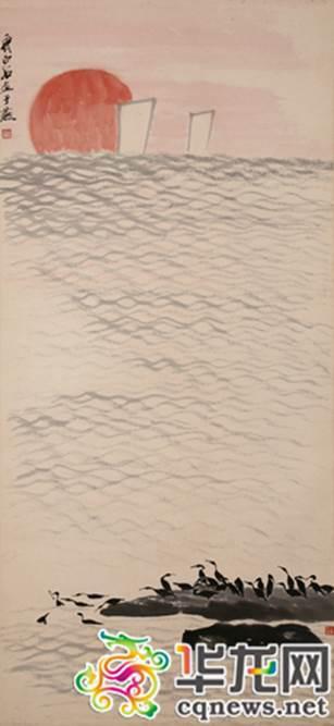 《斜阳水渚》。本网资料图