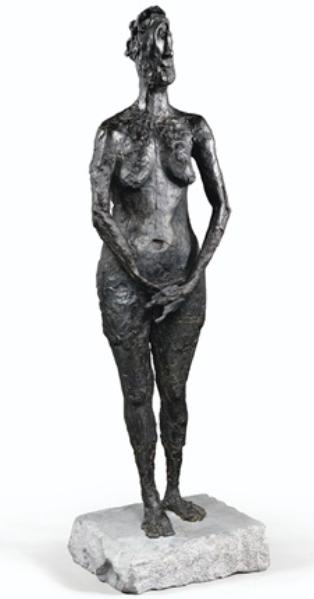 日耳曼娜・里奇耶,《La Vierge folle》, 1946。图片:致谢伦敦宝龙