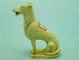 朝阳唐墓里出土的用于陪葬的陶狗。周亚利供图