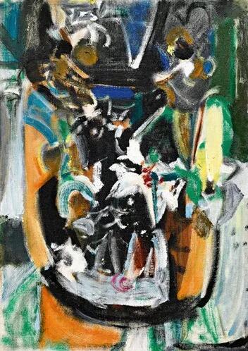 吴大羽《无题28》 油画画布,53x37.8公分 估价:6,000,000至10,000,000港元