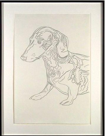 安迪·沃霍尔,《阿奇》,约1976。图片:artnet画廊网络