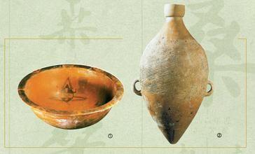图1 仰韶文化尖底瓶(西安半坡出土)