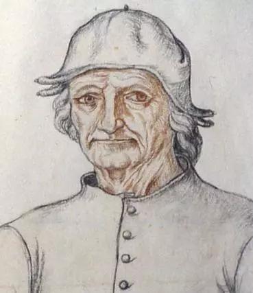 博斯的自画像(存疑),约1560年。图源:维基共享资源
