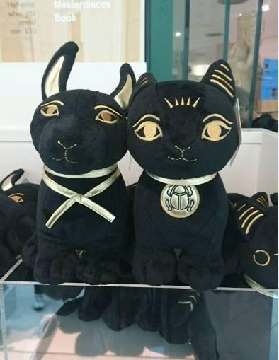 埃及猫咪的毛绒玩具