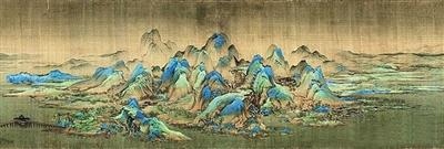 《千里江山图》