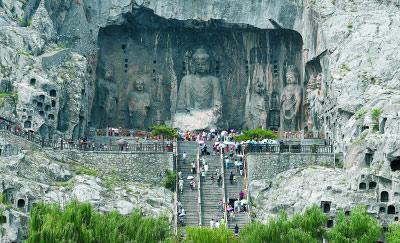 龙门石窟(图片来源:北京日报)