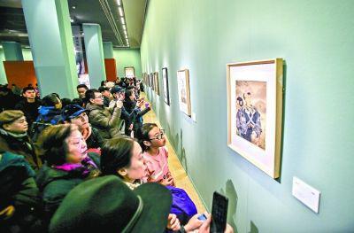 各大美术馆的馆藏精品引爆了观众的观展热情。