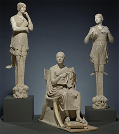馆藏作品 塞壬和诗人们。图片来源www.getty.edu