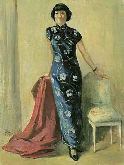 徐悲鸿第一任妻子蒋碧薇