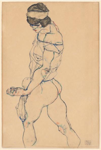 步行者(1914),席勒