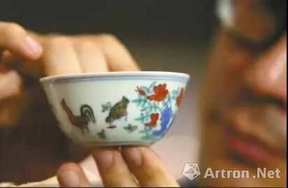 刘益谦2.8亿拍下的鸡缸杯