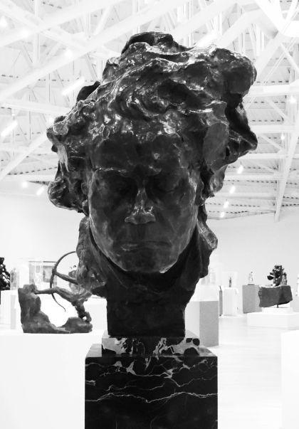 布德尔作品《贝多芬像》