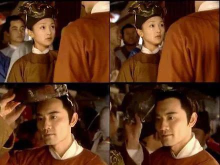 电视剧《大明宫词》太平公主与薛绍元宵节时邂逅的场景