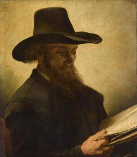 《阅读的男人》(Homme lisant),仿作Barent Fabritius,巴黎,卢浮宫博物馆 Photo (C) RMN-Grand Palais (musée du Louvre) / Franck Raux