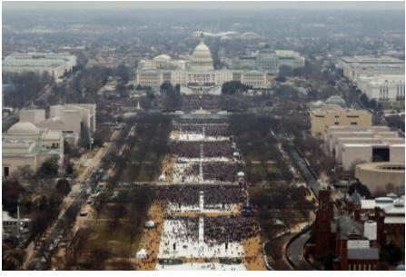 特朗普的就职仪式得到了数位艺术圈知名人物的支持。图片:Photo by Lucas Jackson �C Pool/Getty Images