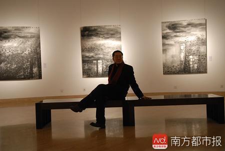 王璜生曾在中国美术馆开个展
