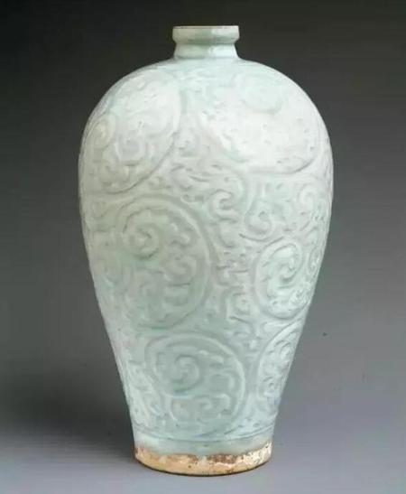 南宋景德镇青白瓷梅瓶 高31.4cm