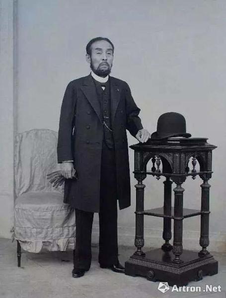 藤田美术馆创始人 日本关西最著名的亚洲艺术品收藏家藤田传三郎(1841-1912)