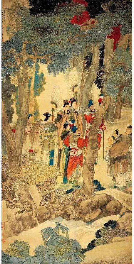 任伯年《华祝三多图》在西泠印社春季拍卖会上以1.67亿元成交