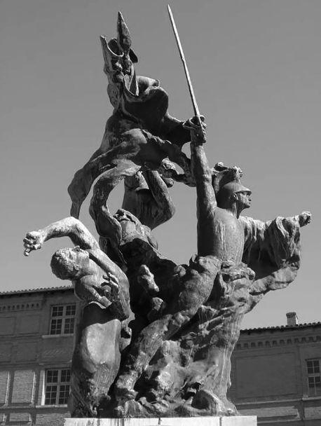 布德尔作品《蒙托拉纪念碑》