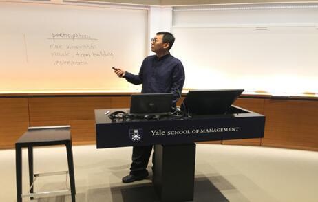 段俊平先生在耶鲁大学传播中国文化