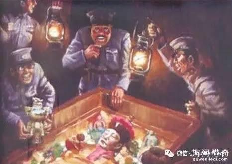 据传,为了逃脱罪责,孙殿英曾把慈禧口中所含的夜明珠送给宋美龄。