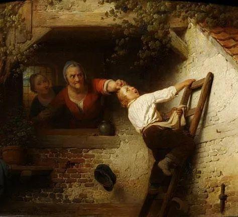 Ferdinand de Braekeleer The grappe thief