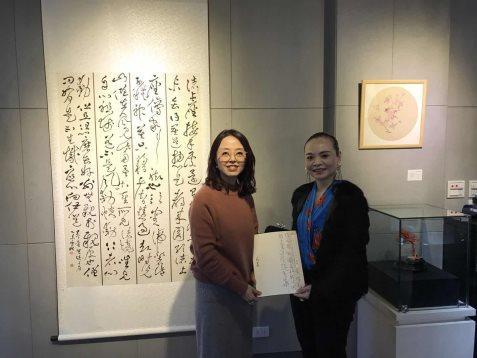 台湾服饰设计师协会理事长Amanda女士