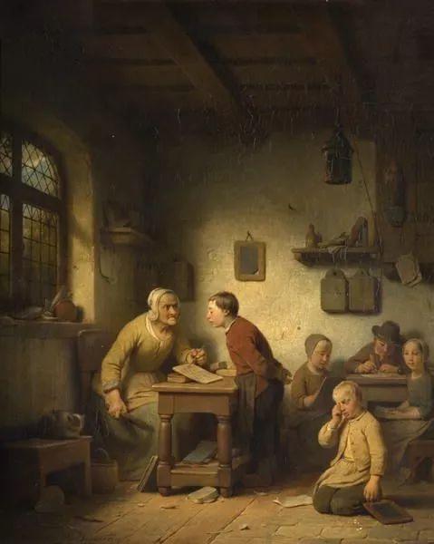 Adrien Ferdinand de Braekeleer Belgian School