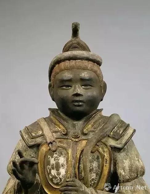 沙羯罗像,局部,奈良时代,日本国宝,奈良兴福寺藏