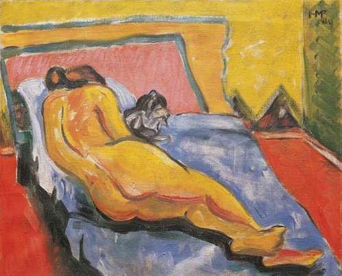 Max Pechstein 的《裸女与猫》拍出43万欧元