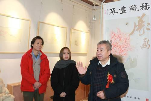 开幕式现场 著名画家、《白胡椒艺术评论》特邀嘉宾张增来致辞摄影/白光