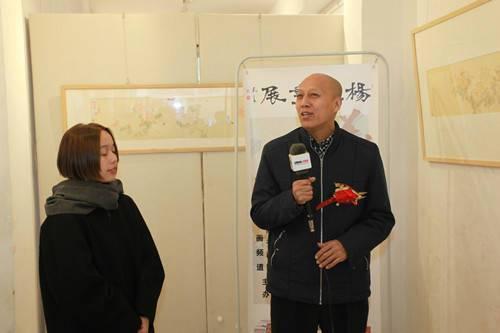 著名道释人物画家郑玉阗与杨薇