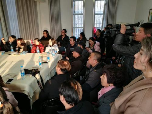 第四届庭前春早-贾广健师生中国画作品展创作座谈会现场