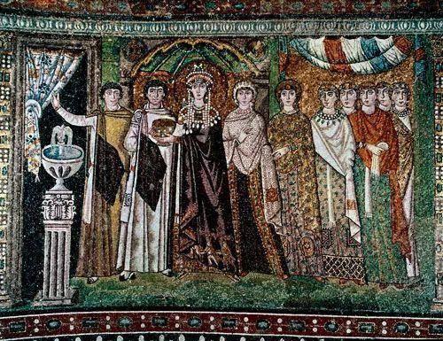 6世纪东罗马帝国的经典拜占庭