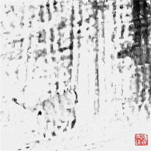 傅文俊数绘摄影作品《长啸山林》