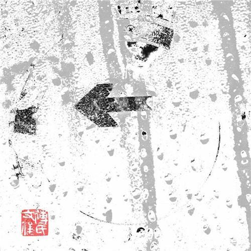 傅文俊数绘摄影作品《向左向右》