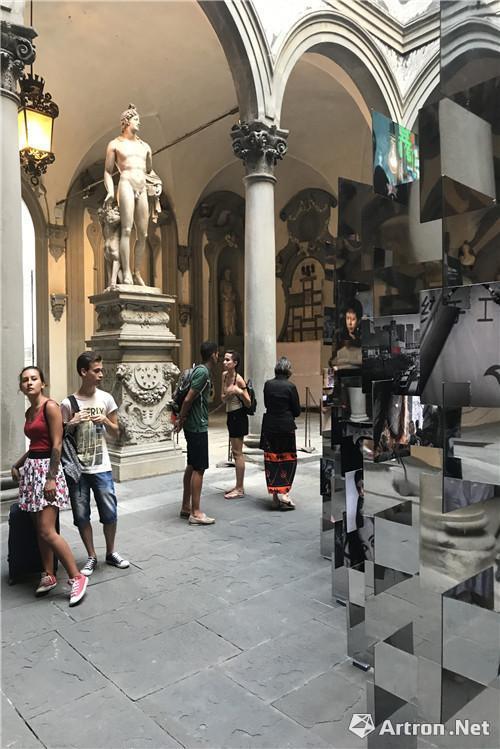 《城墙之外—2017西安当代艺术》佛罗伦萨巡展现场