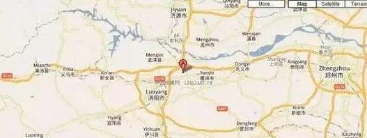 河南洛阳金村地理位置