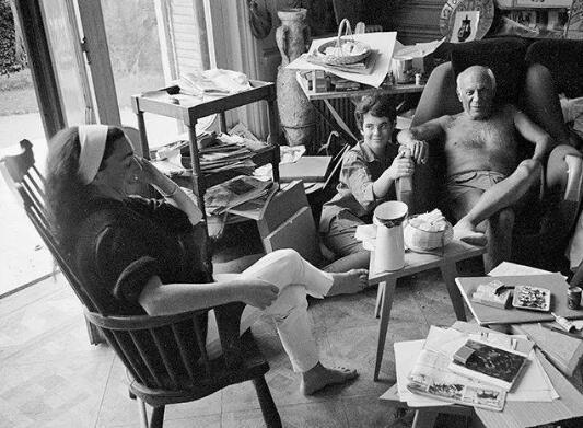 杰奎琳、凯瑟琳·霍丁-布莱和毕加索