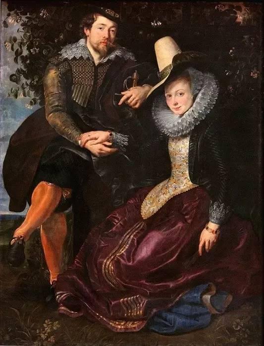 《忍冬树下的鲁本斯和妻子伊莎贝拉》