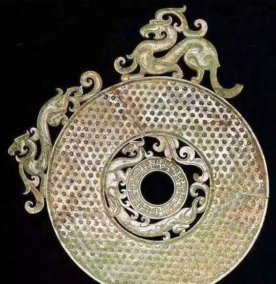 洛阳金村出土玉璧 现藏于纳尔逊艺术博物馆