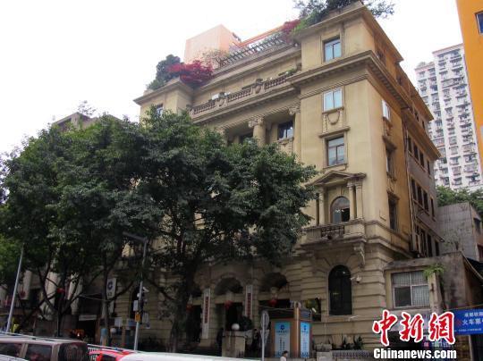 图为交通银行旧址。 渝中区供图 摄