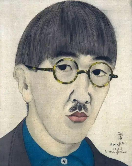 自画像 1922