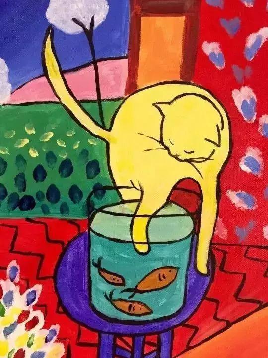 亨利·马蒂斯养育过许多只猫