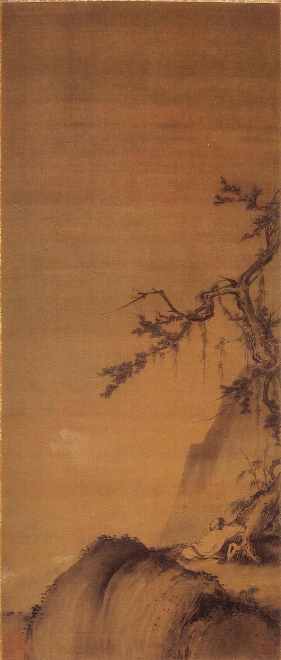 宋徽宗(传)《秋景山水图》