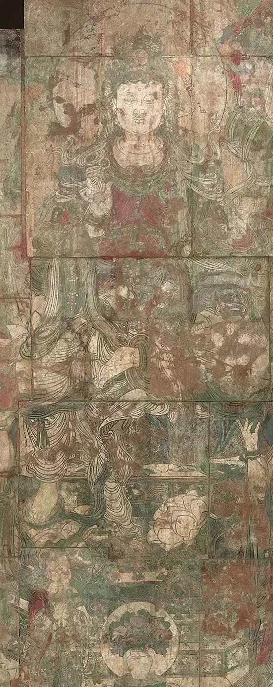 整幅壁画长15.2米,高7.52米,规模极为宏大。