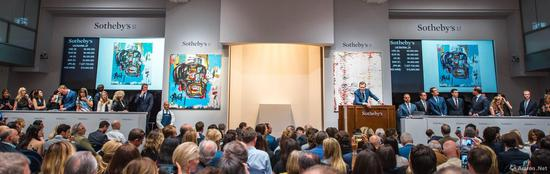 巴斯奇亚《无题(Untitled)》使其成为第一位跻身1亿美元行列的当代艺术家